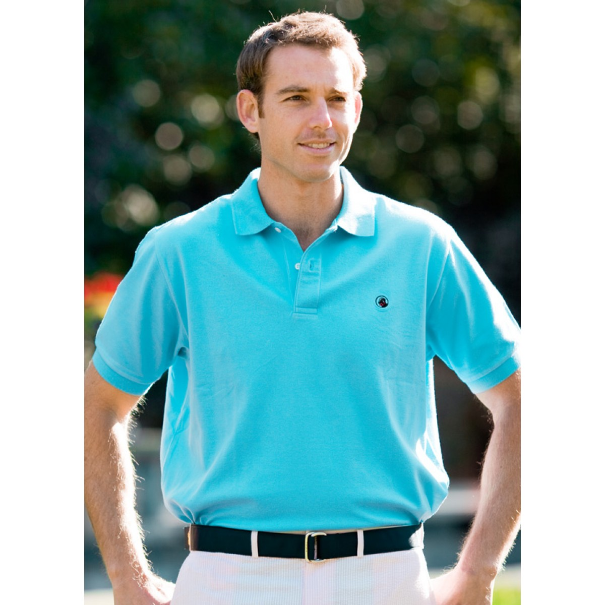 "Proper Polo ""Laid Back"" Ocean Blue"